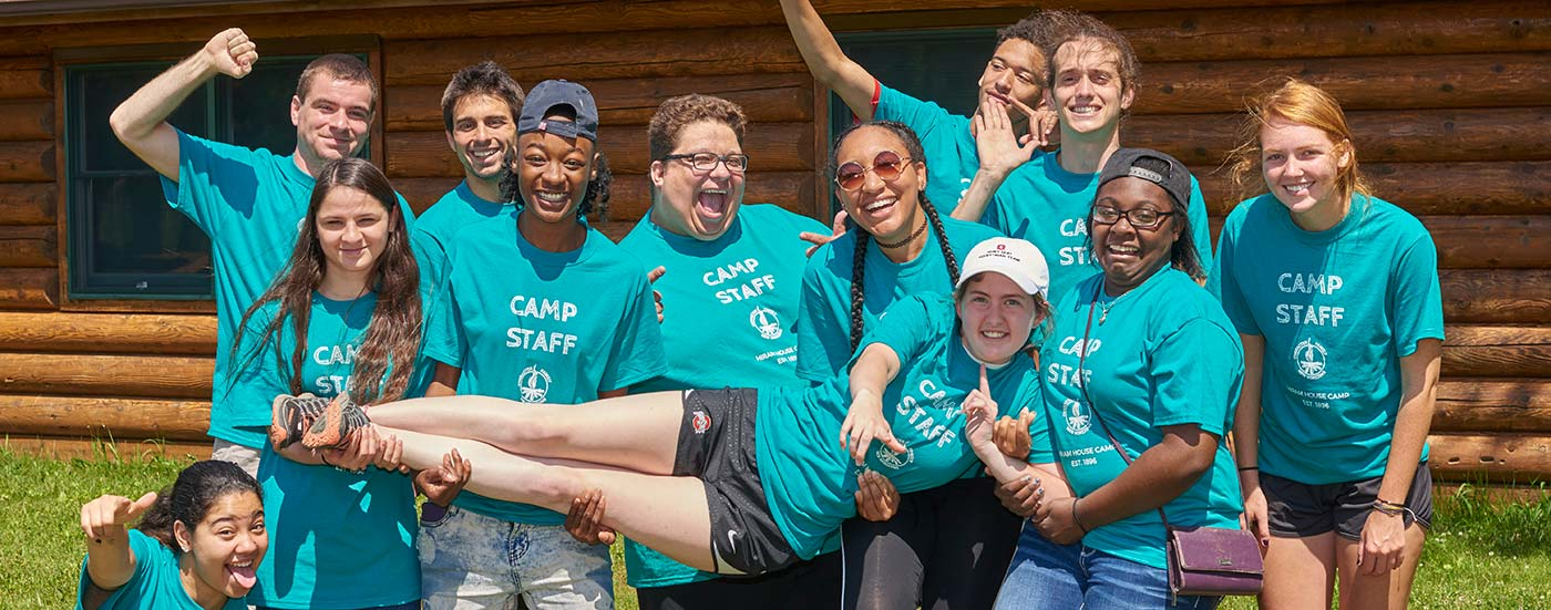 Counselor and Staff Job Opportunities at Hiram House Camp