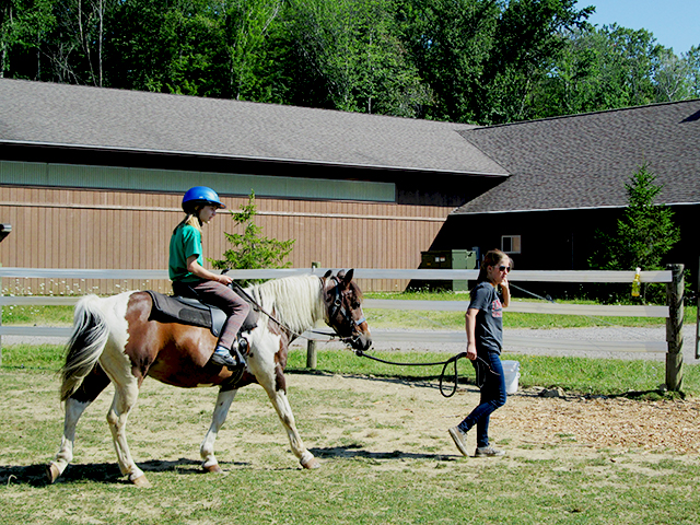 Hiram House Camp Horseback Riding