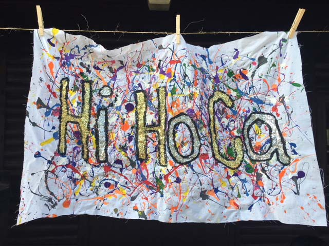 Hiram House Camp Hi Ho Ca summer camp artwork